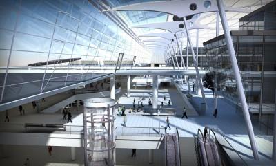 Flughafen Frankfurt Entwurf