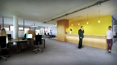 Infineon Campus Empfang