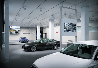 Audi Showroom in Manhatten