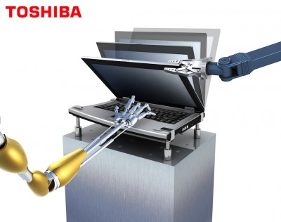 Toshiba Printwerbung